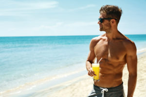 hot guy in summer